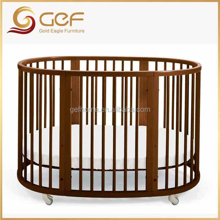 4 in 1 baby cot crib separate to chairs and dress table GEF-BB-11