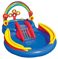 Intex Rainbow Ring Inflatable Play Center pool for kids