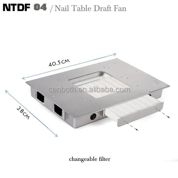 Hot S Manicure Fan Dust Collector Ntdf 04 Nail Table Draft Product On Alibaba