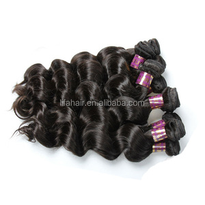 Unprocessed best quality pure fruit hair of hair weft