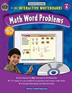Interactive Learning: Math Word Problems (Gr. 6)