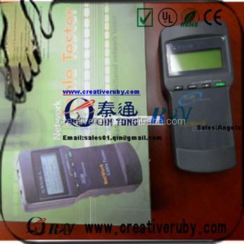 Portable Network Lan Telefonkabel Tester Meter Lcd Rj45 Cat5 Sc-8108 ...