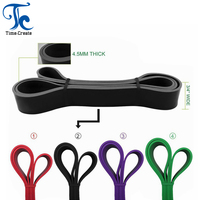 Resistance Stretch Band Long Elastic Flat Bands,Latex Free,Home Gym Fitness