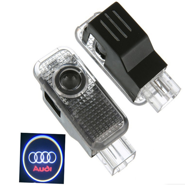 LED autodeur courtesy light met auto logo voor AUDI