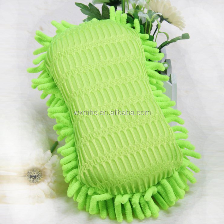 Colourful Microfiber Chenille Car Washing Mitt
