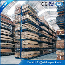 China factory Quickly installation industrial cantilever stacking racks, pipe storage rack, storage cantilever racking