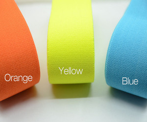 2 inch 50mm Colored Wide Elastic, Waistband Elastic,Sewing Elastic
