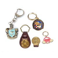 Promotional Wholesale Cheap Engraved Laser Logo Round polish Blank Metal Keychain,OEM/ODM Custom Embossed leather Key Chain