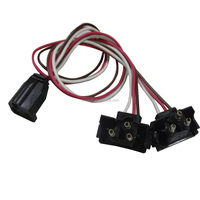 Factory direct sale modern high-grade trailer wire harness plug 3 way quick connector wiring harness for truck 3pin plug