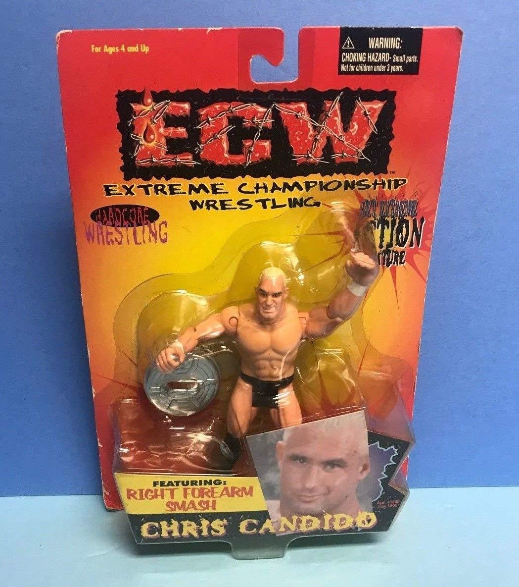 ECW Hardcore Wrestling Right Forearm Smash Chris Candido ToyMakers 1999