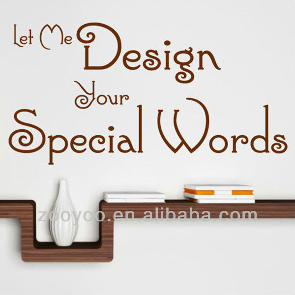 Zy8047 Wall Decor Sticker Vinyl Decal Quote Sayings Words Don T