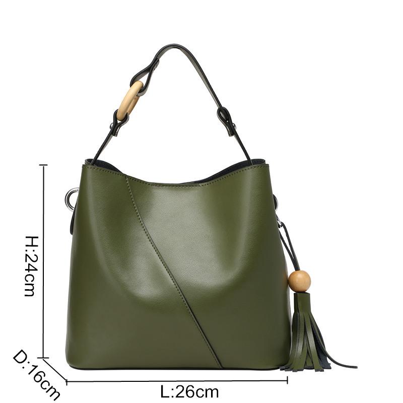 9c1d6392f1c0 Nesitu Green Black Red Split Leather Small Women Leather Handbags Ladies  Shoulder Bag Woman Messenger Bags Female Tote #M0801