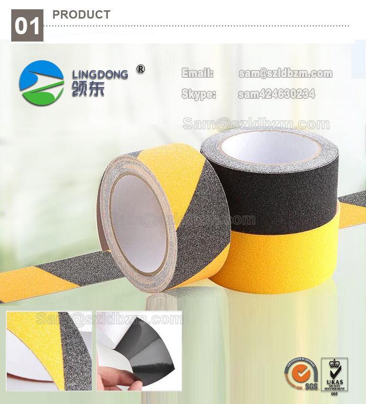 2017 Shopping malls and exhibitions & Outdoor use Anti-slip adhesive Tape
