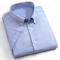 100%cotton fashion summer short sleeves causal men dress shirt