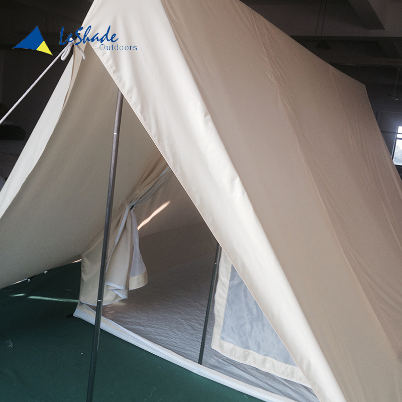 Safe and realiable organic hemp round canvas fabric for waterproof tent
