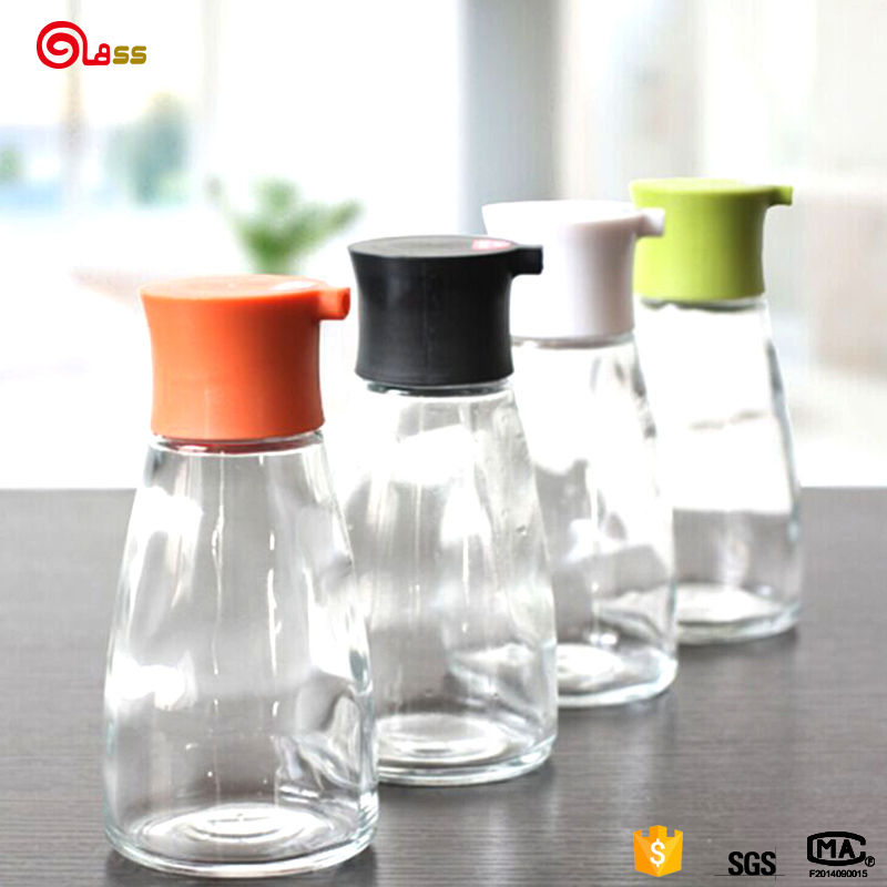 100 ml fancy essential glass oil vinegar container bottle