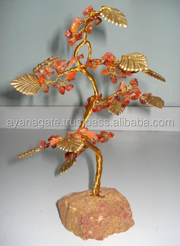 Golden Quartz tree