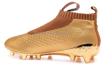 a346d7d7d82 brand newest football shoes with luxury gold color 2016 hot sale men s soccer  boots cleats