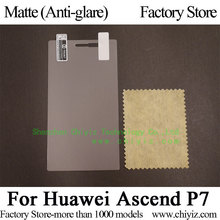 Matte Anti glare Frosted Screen Protector Guard Cover Protective Film Shield For Huawei Ascend P7 P7-L00 P7-L05 P7-L10 P7-L09