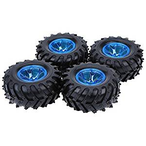 GoolRC 4Pcs/Set 1/10 Monster Truck Tire Tyres for Traxxas HSP Tamiya HPI Kyosho RC Model Car, Model: , Toys & Play