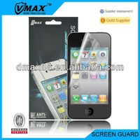 For iPhone4/4s screen protectors oem/odm (Anti-Fingerprint)