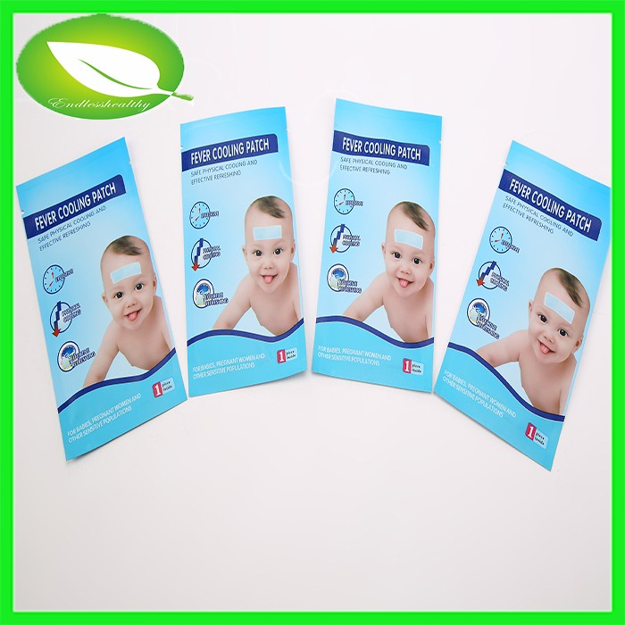 OEM Medical Ice Cool Patch Fever Reducing Patch Frozen Fever Cooling Patch Ice Hydrogel Cool Fever Plaster