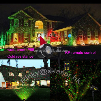 Star Laser Show Red Green Color Plastic