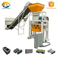 QT40-1 cement brick and paver making machine price in hyderabad
