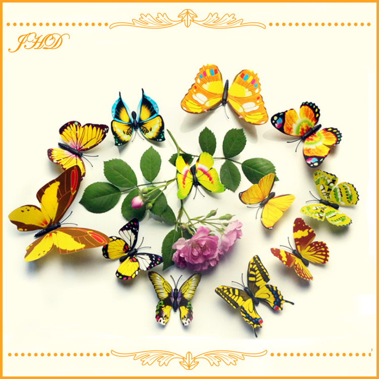 3d butterfly wall stickers home decor for child room