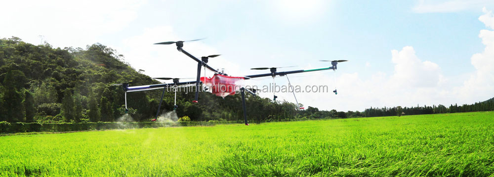 Pesticide Spraying Helicopter