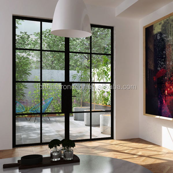 High-quality interior wrought iron doors