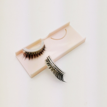 2018 privated label new style self adhesive eyelash not use glue wholesale false eyelash