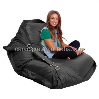 Flexible Comfortable S Bean Bag Chair With Belts Safe Outdoor Beanbag Furniture Sofa Seat Double