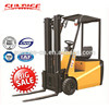 1500 kgs 3000mm height 4-wheel electric forklift truck 1.5 ton 3M lifting forklift
