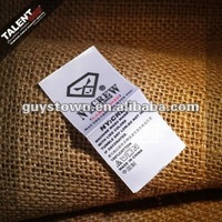 custom private brand satin polyester printed garment wash care instructions labels