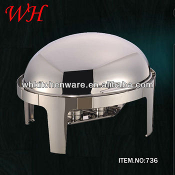 Hot Sale Roll Top Full Size Chafing Dish for sale/used chafing dishes