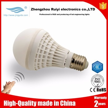 High Lumen Lamp Clap Switch 5w Led Lights Bulb Sound Voice Sensor ...