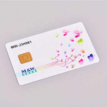 High Quality RFID+Contact Chip Dual Interface Card