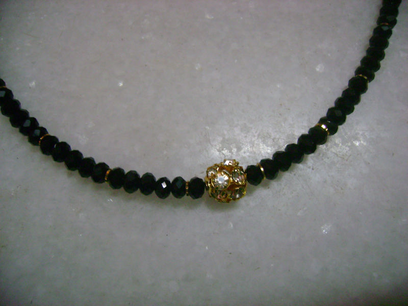 Black Crystal Necklace - Buy Necklace Product on Alibaba.com