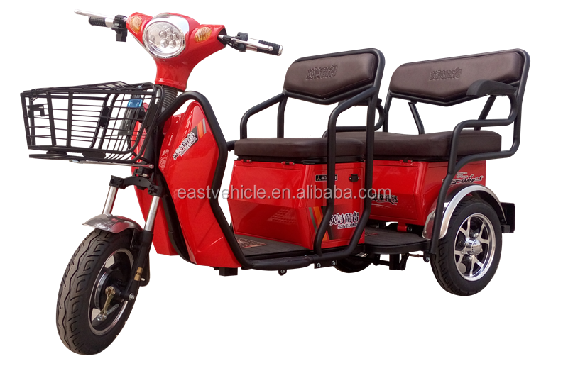 No License Electric Trike Three 3 Wheel Triwheel Scooter View Adult