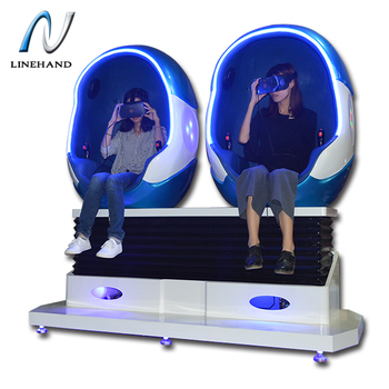 Escape the virtual reality world 9d vr roller coaster video game simulator 9d cinema with 4 interactive games