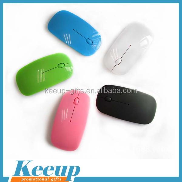 76c6e597409 Custom Wireless Super Slim Pocket Mouse Optical For Advertising ...