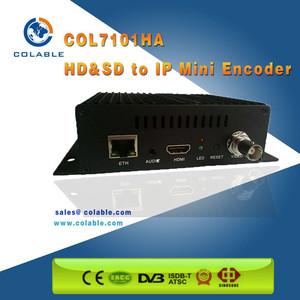 RTSP RTMP/UDP SDI IPTV HD HD MI 1080P H 264 H 265 HEVC Encoder to IP Audio  Video Streaming Encoder
