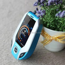 Luxury small size gift car model mobile phone i8 with touch screen