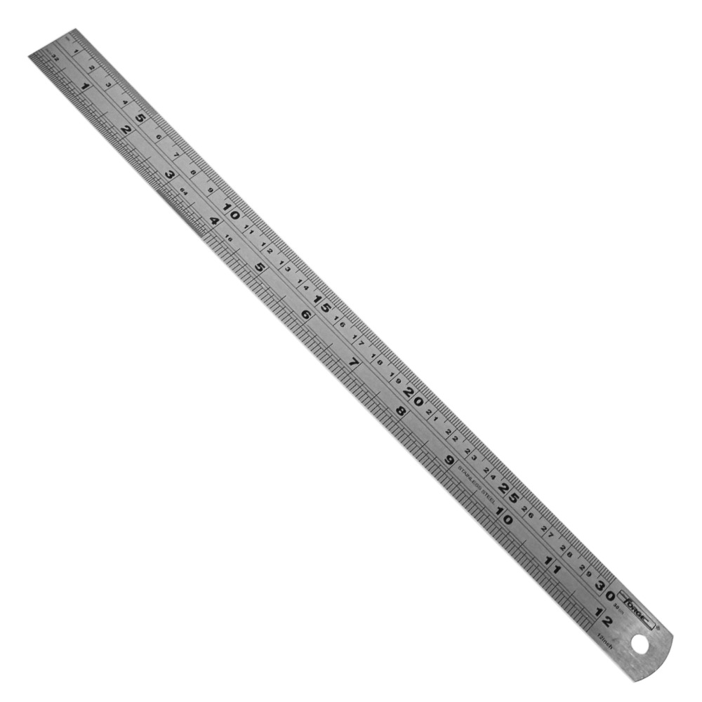 "Measuring Tools 150mm (6"") Stainless Steel Ruler"
