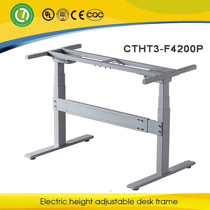 Electric Power Control Height Adjustable Office Desk Base/frame From 110V  To 230V With 50or
