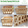big wood fruits crates,wooden vegetables crate,deep wood vegetable crates