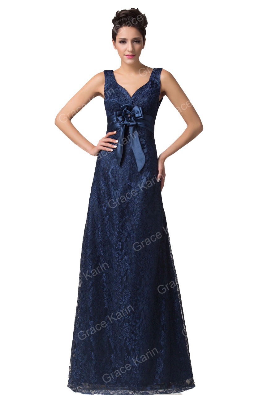 6275ceeb36 Get Quotations · Lastest Fashion Grace Karin Sexy Double V-Neck Lace  Celebrity Prom Dress Robe De Soiree