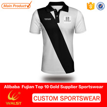 Hot sell jersey designs sublimated for women team badminton with your name