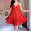 Free Shipping Bobydoll Nightwear Pajamas Ladies Night Dresses Sleepwear